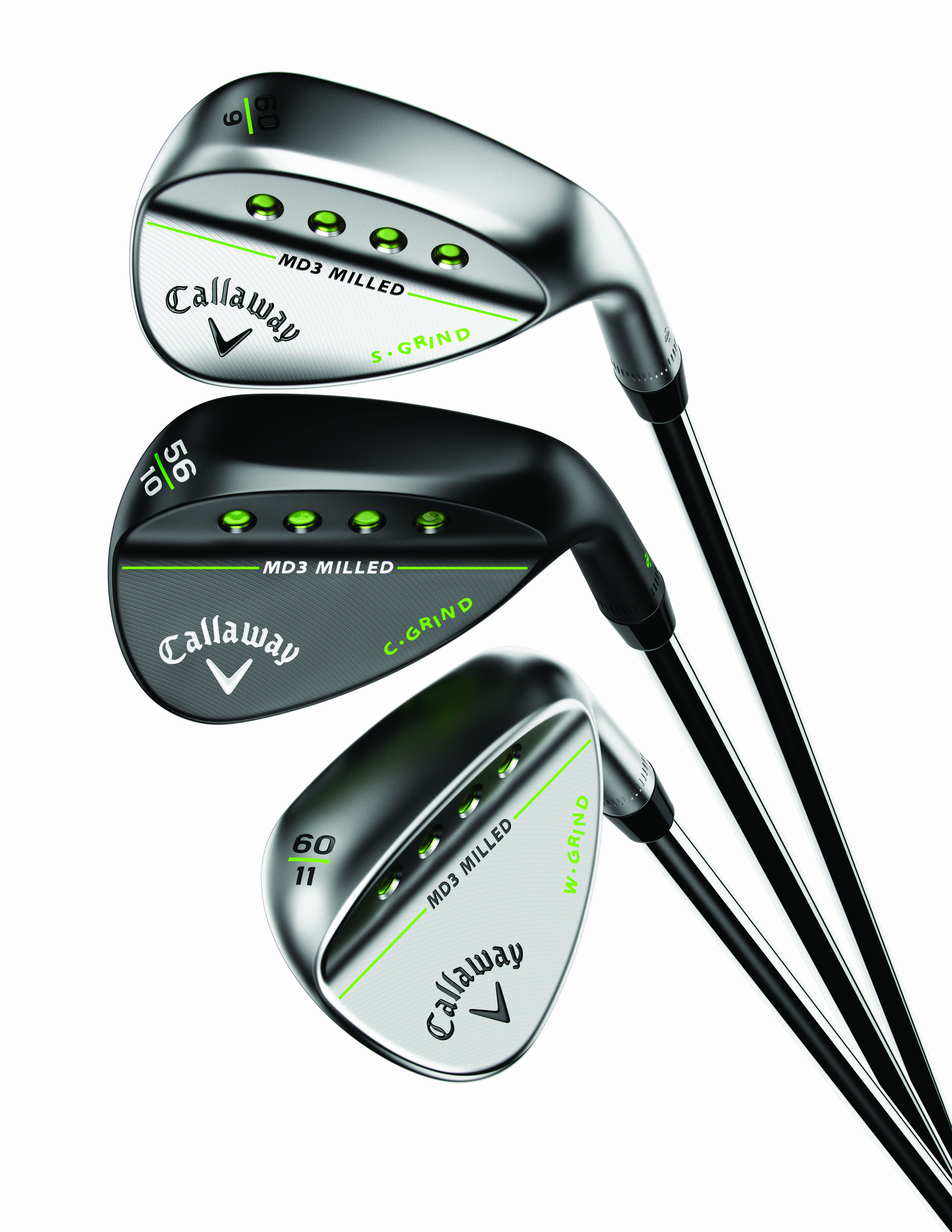 Callaway Golf Announces Md3 Milled Wedges